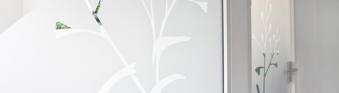 Wand- und Türbemalung Gräser